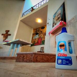 Putzen für Padre Pio